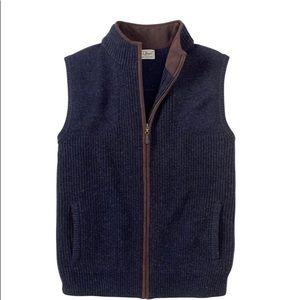 LL Bean sweater vest